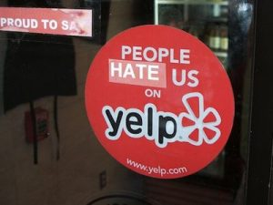 Yelp commentaires USA