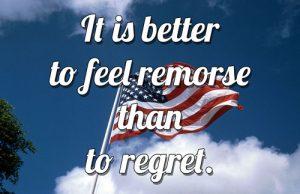 Vivre aux USA - Il vaut mieux avoir des remords que des regrets..