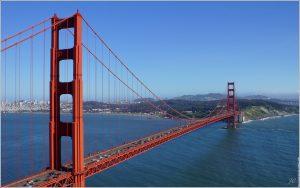 la vie aux Etats Unis : golden gate