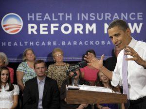Obama, le discours sur l'assurance santé e,-n 2010