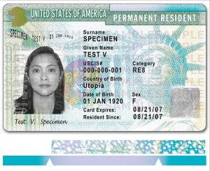 La Green Card devient Blue Card